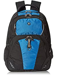 SA6685 Black with Blue Laptop Backpack - Fits Most 15 Inch Laptops and Tablets
