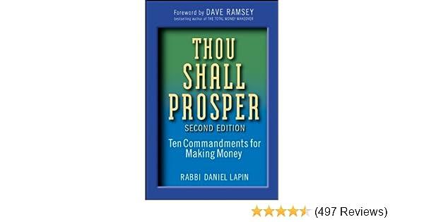 Amazon Thou Shall Prosper Ten Commandments For Making Money