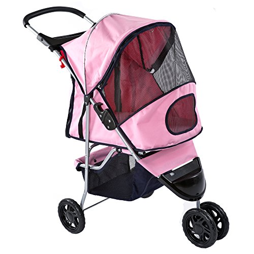 Cat Stroller With Detachable Carrier - 9