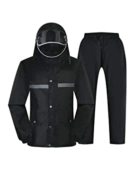 ZJW Chaqueta Impermeable/Impermeable para Hombre Chaqueta Y ...