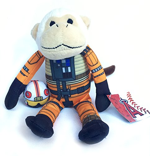 Monkey Anaheim Angels Rally (Anaheim Angels Promotional Tie Fighter Pilot Rally Monkey Plush)