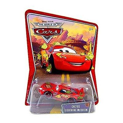 Disney Pixar Cars Cactus McQueen Vehicle: Toys & Games