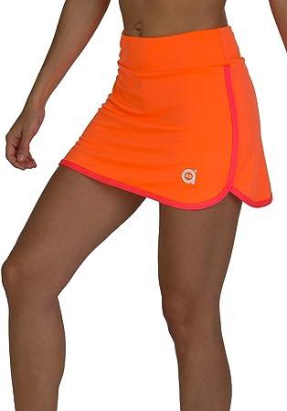 a40grados Sport & Style, Falda Fluss Naranja, Mujer, Tenis y Padel ...