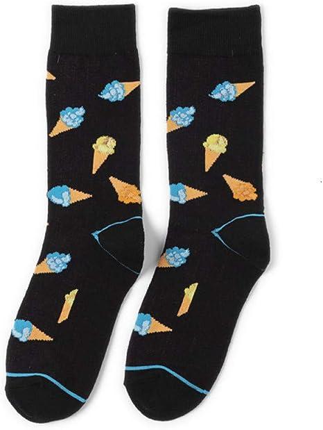 LAFDWZ 1 Par De Calcetines De Hombre Calcetines De Algodón De Dibujos Animados De Animales Divertidos Calcetines Felices: Amazon.es: Deportes y aire libre