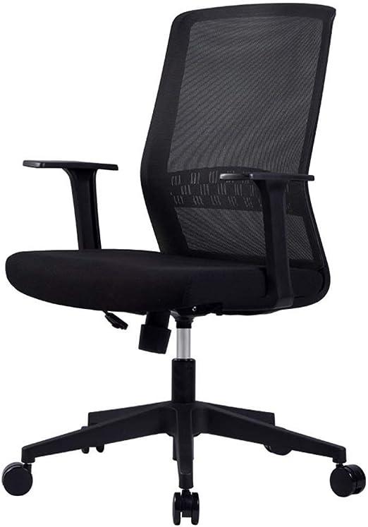 ZBHW Chair In Black - Silla de Escritorio for recepción - Silla de Oficina Alta for escritorios de pie Ajustables - Silla de Mesa de Dibujo: Amazon.es: Hogar