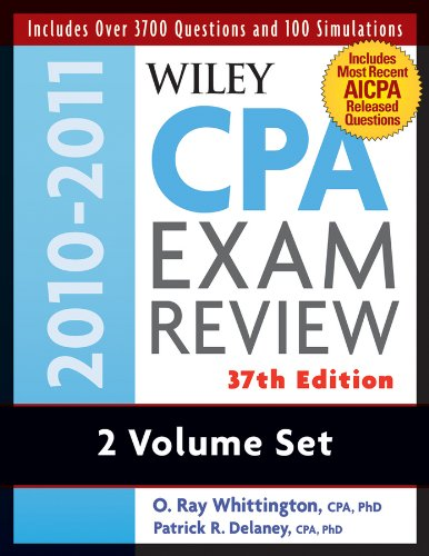 Wiley CPA Examination Review, Set (Wiley CPA Examination Review: Outlines & Study Guides / Problems & Solutions (2v.)) (Volumes 1 and 2)