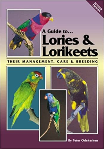 Book Cover Image - A Guide to Lories and Lorikeets - Their Management, Care and Breeding by Pete Odekerken (Author). Source: Amazon Australia