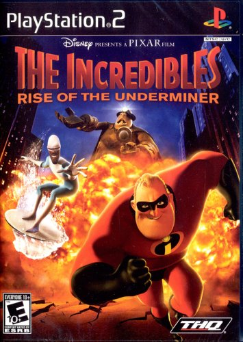 Incredibles: Rise of the Underminer (The Incredibles Rise Of The Underminer Ps2)