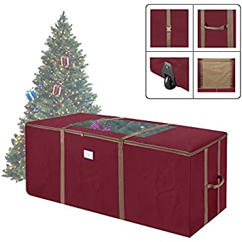 Elf Stor Rolling Duffle Christmas Tree Storage Bag