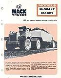 1975 Mack M50AXT 120Tn Construction Dump Truck