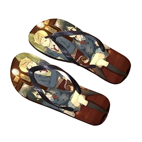 Bromeo Kyokai no Kanata Anime Unisex Flip Flops Chanclas 698