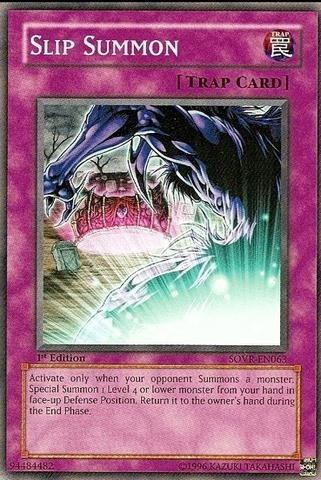 Yu-Gi-Oh! - Slip Summon (SOVR-EN063) - Stardust Overdrive - Unlimited Edition - Common by (Overdrive Slip)