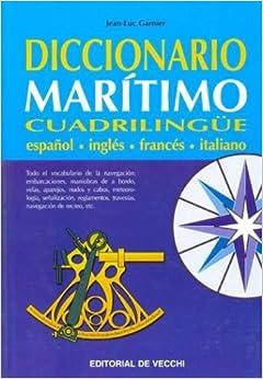 Book Diccionario Maritimo Cuadrilingue