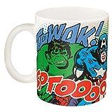 Zak Designs Marvel Super Hero Coffee Cup, 11 oz