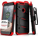 Google Pixel XL Case, Zizo [Bolt Series] w/ FREE [Google Pixel XL Screen Protector] Kickstand [Military Grade...