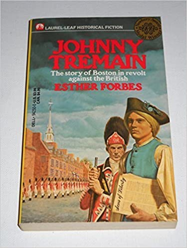 Johnny Tremain - The Story of Boston in Revolt Against the British ...