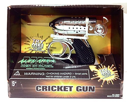 Men In Black Alien Attack : Noisy Cricket Toy Movie Replica with Sound & Light - In Black Agent Men