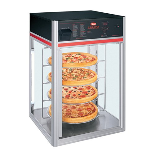 - Hatco FSDT-1X Flav-R-Savor Humidified Holding/Display Cabinet - Stationary, 1 Door, 4 Shelves