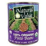 Natural Value Bean Pinto Org