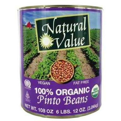 Natural Value Bean Pinto Org by Natural Value