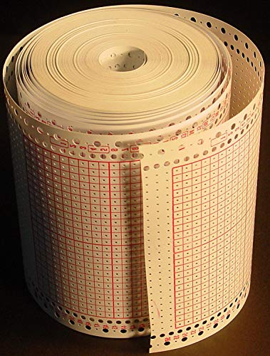 24 Stitch Pattern Blank Punchcard 4.5mm for Brother/Singer Knitting Machine