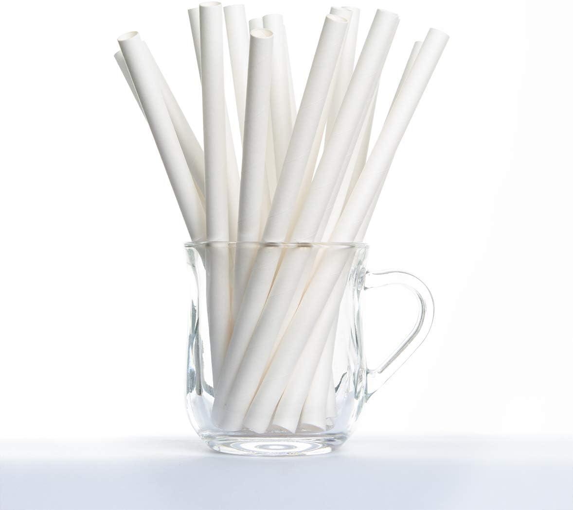 San Valentino ecologiche compleanni matrimoni baby shower riciclabili 150 pezzi Bamboo biodegradabili per feste Cannucce di carta