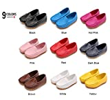 #4: LONSOEN Toddler Little Kid Boys Girls Soft Slip On Loafers Dress Flat Shoes
