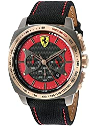 Ferrari 830294 AERO EVO Quartz Resin and Nylon Watch