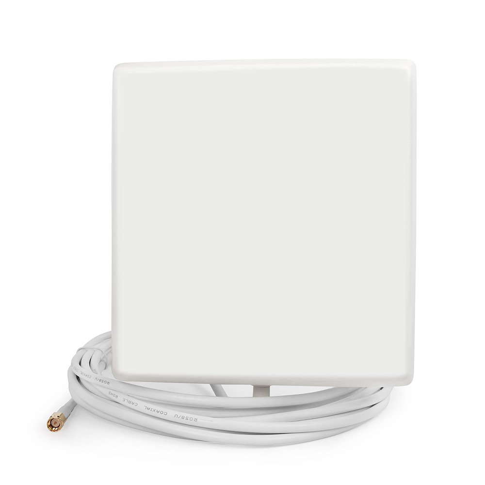 LTE 4G Internal Wall Cell Phone N-Male Directional Panel Antenna 5m Cable for Signal Booster Amplifier