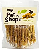 Pet 'n Shape Rawhide & Chicken Dog Treats, Chik 'n Hide Twists, 5 Inch, 1 Pound, 6 Pack Review