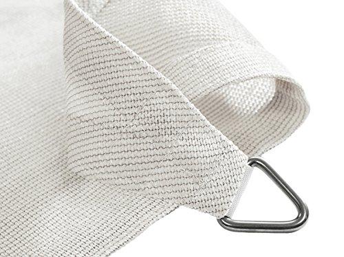 185g Quadrata 5,4 m Bianco Polare Traspirante Intrecciata Tende a vela Kookaburra per feste