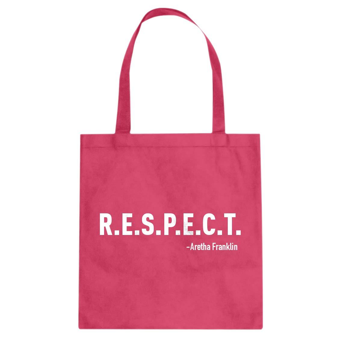 Indica Plateau RESPECT Cotton Canvas Tote Bag