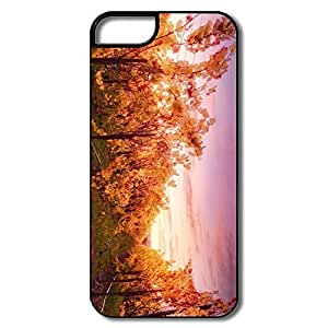 Funny Sunset Russian River Case For IPhone 5/5s