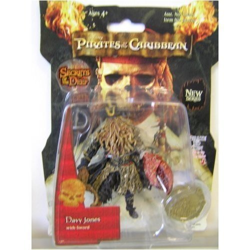 Davy Jones Chest (Zizzle Pirates of the Caribbean Dead Mans Chest 3 3/4 Inch Action Figure Series 3 Davy)