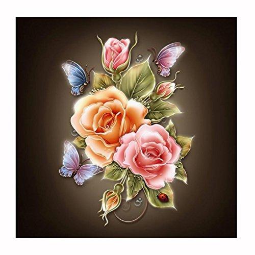 DEESEE(TM) DIY Diamond 5D Embroidery Paintings Rhinestone Pasted diy Christmas painting Cross Stitch (S( 3737cm))