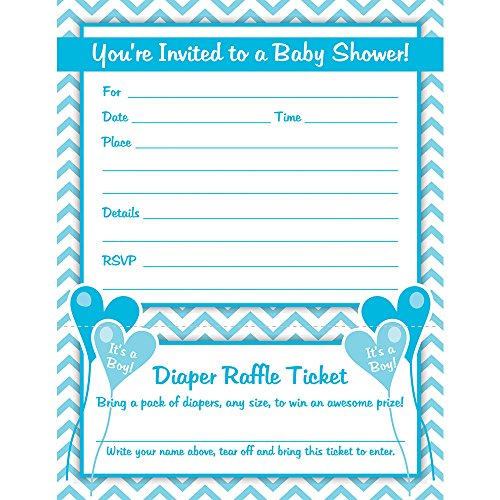 White Baby Shower Invitations - 7