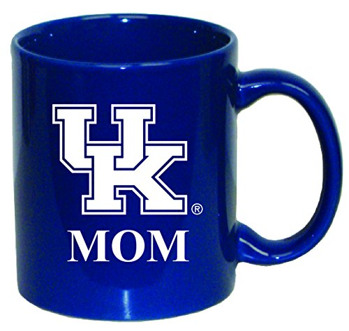 (NCAA Kentucky Wildcats 11 oz Mom with Team Logo Ceramic Coffee Mug)