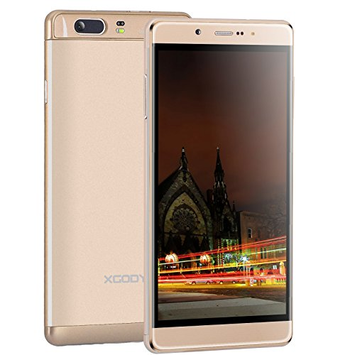 Xgody 6 Inch Unlocked Cell Phone 1GB RAM 16GB ROM MTK 6580M