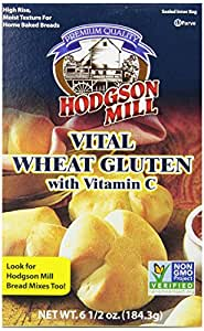 Hodgson Mill Vital Wheat Gluten with Vitamin C, 6.5-Ounce Boxes (Pack of 8)
