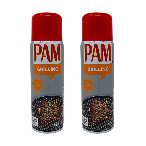Pam Grilling No-Stick Cooking Spray - 5 oz - 2 pk - Pam Non Stick Spray