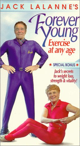 Forever Young:  Exercise at Any Age [VHS] Jack LaLanne