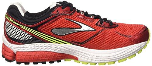 Brooks Aduro 3 M, Zapatillas de Running para Hombre High Risk Red/Black/Nightlife