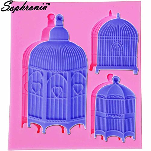 Star-Trade-Inc - Birdcages Silicone Cake Mold Decoration, used for sale  Delivered anywhere in USA