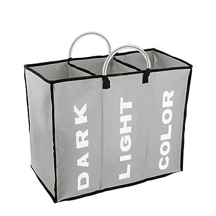 Large Laundry Sorter Classy Amazon IHOMAGIC 60 Sections Large Laundry Hamper Laundry Bag