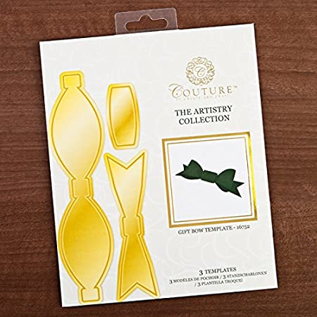 Create And Craft Couture Collection Artistry Gift Bow Template 319737