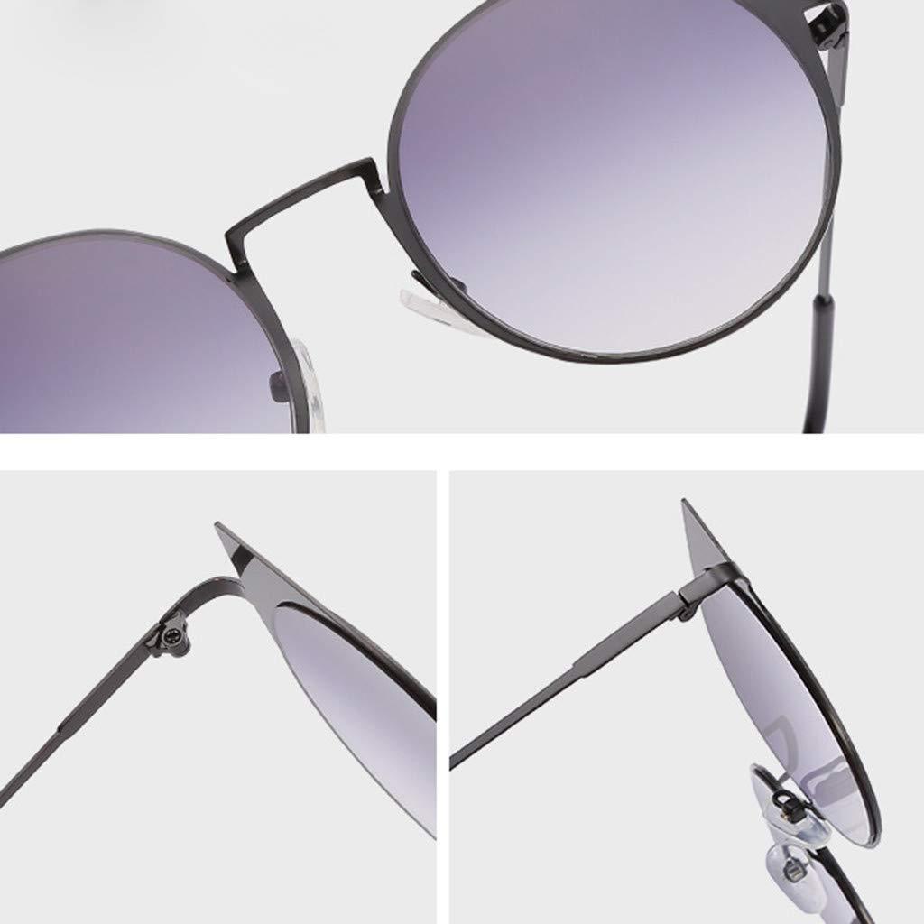 Creazrise Unisex Small Frame Round Hippie Vintage Retro Irregular Shape Sun 60s Style Circle Colored Glasses