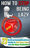 Free eBook - How To Stop Being Lazy