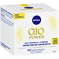 NIVEA Q10 Power Anti-Wrinkle + Firming Age Spot Day Cream SPF30 (50 ml), Anti-Ageing Moisturising Face Cream with Q10…