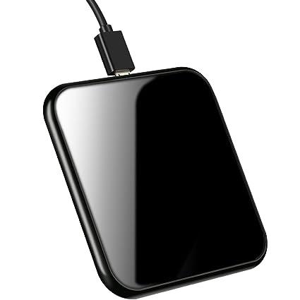 Amazon.com: Cargador inalámbrico, Slim efecto de espejo Qi ...