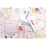 Assorted Pack Greeting Cards, Thank You, Hello Baby, Congratulations, Special for You and More! Perfect Set of Cards for All Your Needs. Pack of 20 with Envelopes. By Mega Stationers
